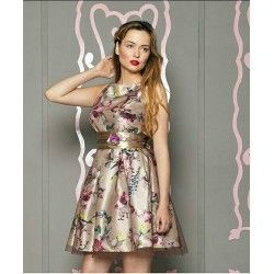 Vestido Estampado Flores OUTLET VALUTA